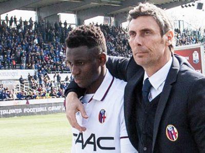 Amadou Diawara e Luca Gotti, vice di Roberto Donadoni