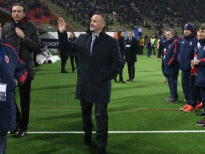 Il presidente del Bologna Joey Saputo al Dall'Ara