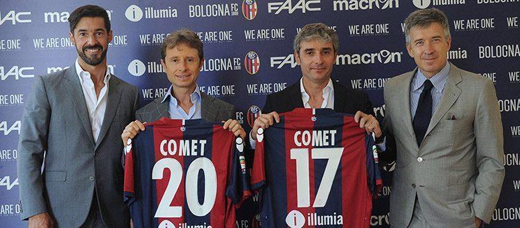 Comet nuovo Top Partner del Bologna (foto: bolognafc.it)