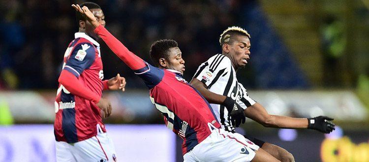 Amadou Diawara in azione durante Bologna-Juventus
