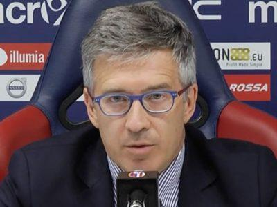 Claudio Fenucci in conferenza stampa