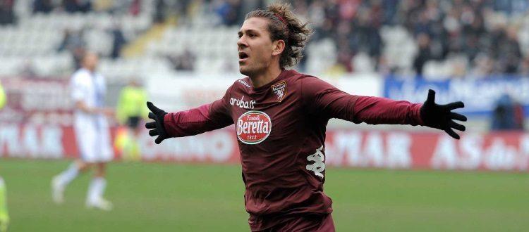 L'esultanza di Alessio Cerci con la maglia del Torino