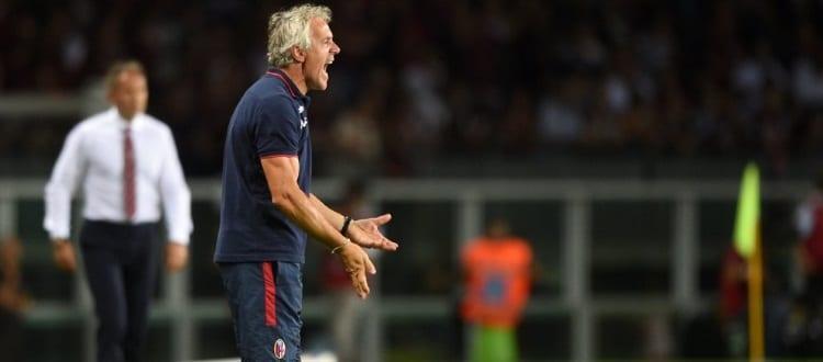 La rabbia di Roberto Donadoni durante Torino-Bologna