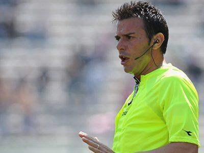 Bologna-Udinese a Domenico Celi di Bari