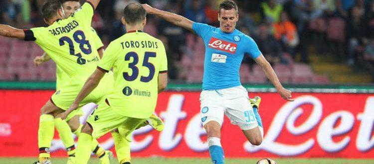Napoli-Bologna 3-1, ma i rossoblù escono a testa alta dal San Paolo