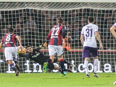 Valeri e Gastaldello infieriscono su un brutto Bologna, la Fiorentina vince col minimo sforzo