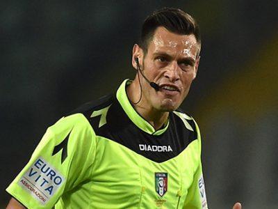 Bologna-Juventus a Maurizio Mariani di Roma