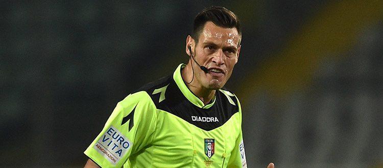 Juventus-Bologna a Maurizio Mariani di Aprilia