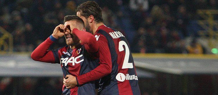 Mounier e Pulgar sugli scudi nel Bologna che piega l'Hellas