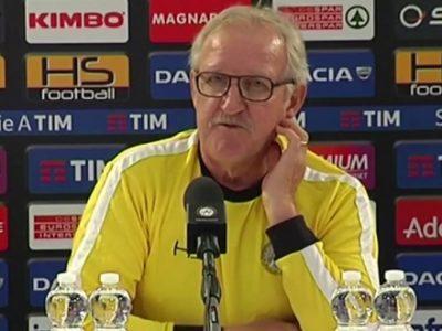 """Delneri: """"Il Bologna è giovane e gioca bene, dovremo stare attenti"""""""