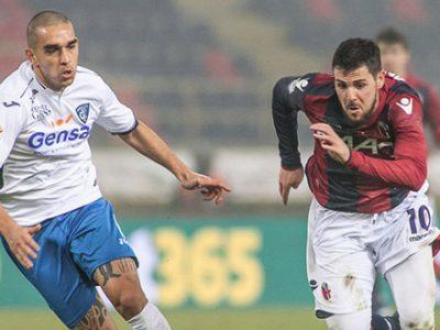 Ripresa degli allenamenti in vista di Pescara-Bologna