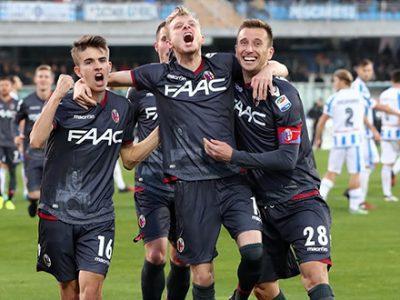 Buon Natale Bologna! Pescara asfaltato 3-0 con Masina, Dzemaili e Krejci