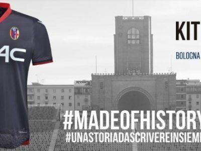 Bologna e Macron insieme fino al 2020, la terza maglia omaggia lo stadio Dall'Ara