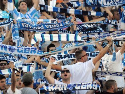 Tensione a Pescara, pesante contestazione contro giocatori, tecnico e società