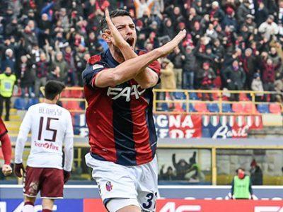 Dzemaili è arrivato a Bologna, comincia la seconda avventura in rossoblù