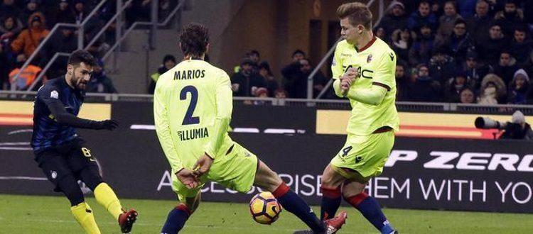 Bologna fuori dalla Coppa Italia a testa alta, l'Inter passa 3-2 solo ai supplementari