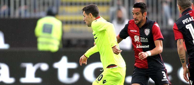 Borriello e Pairetto negano la vittoria al Bologna, a Cagliari finisce 1-1