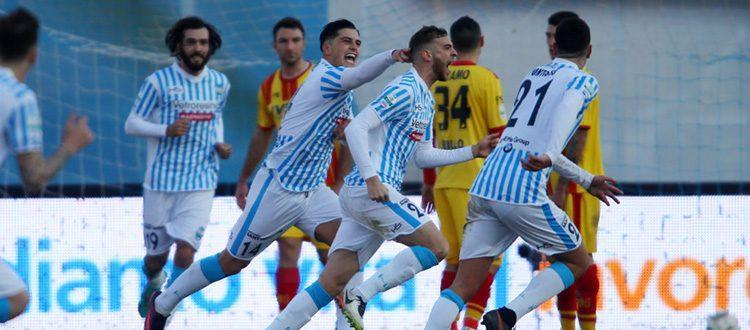 Floccari, esordio con gol e Spal seconda in solitaria