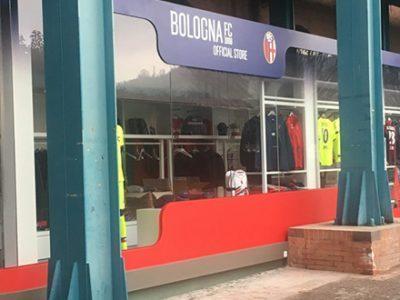 Apre il nuovo official store al Dall'Ara