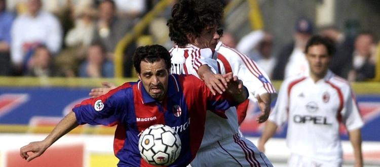Il 10 marzo 2002 l'ultima vittoria sul Milan al Dall'Ara