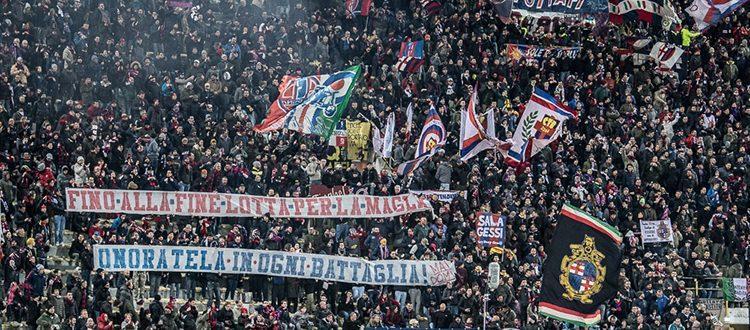 5000 euro di ammenda al Bologna per striscione gravemente insultante nei confronti di un arbitro