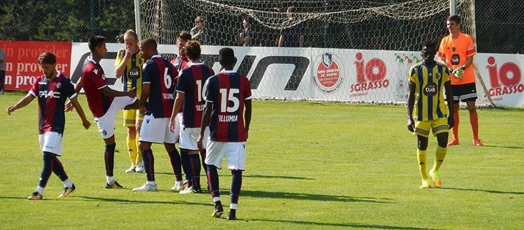 Bologna-Trento 5-0, alti e bassi nell'ultimo test di Castelrotto