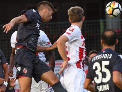 Bologna a corrente alternata, ma contro il Colonia arriva un positivo 1-1