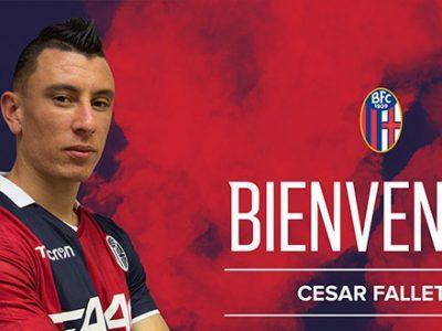 Ufficiale: Cesar Falletti al Bologna
