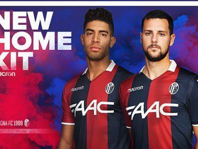 Bologna FC 1909 e Macron presentano la nuova maglia home 2017-2018