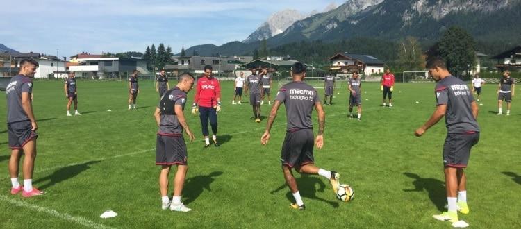 Doppio allenamento a Sankt Johann, cambia l'avversario del match di giovedì