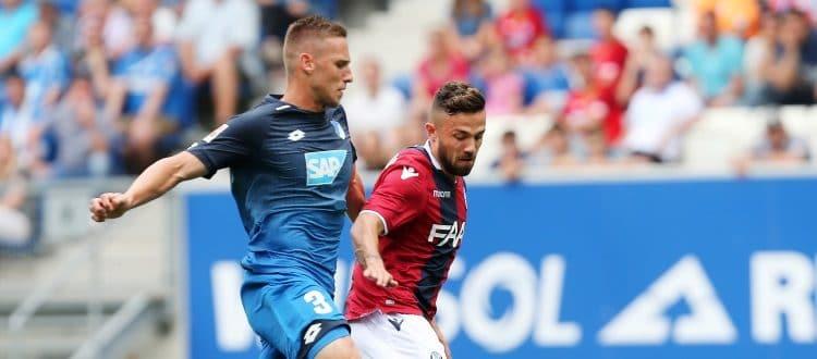 Destro e Di Francesco guidano il riscatto del Bologna, Hoffenheim piegato 2-1