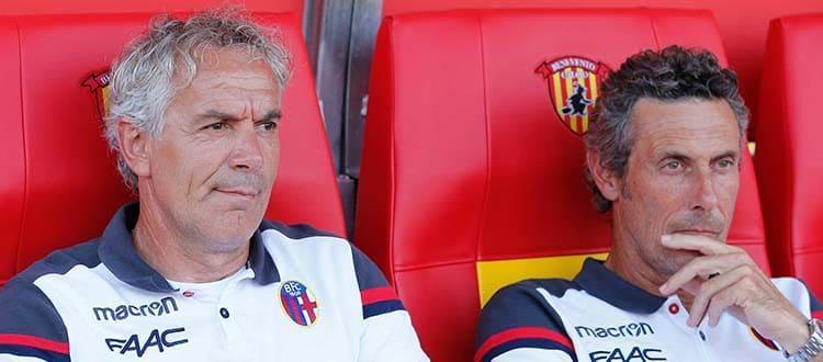 A Casteldebole acceso diverbio tra un tifoso rossoblù e Roberto Donadoni