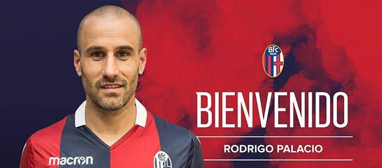 Il Bologna ufficializza Palacio. El Trenza: