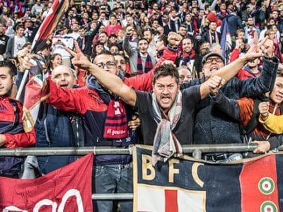 Oltre 2.500 tifosi rossoblù presenti stasera al Mapei Stadium per sostenere il Bologna