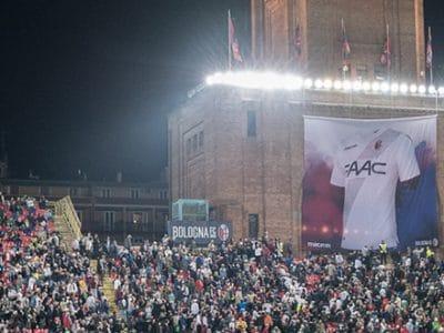 I 100 nomi presenti sulla maglia Away del Bologna