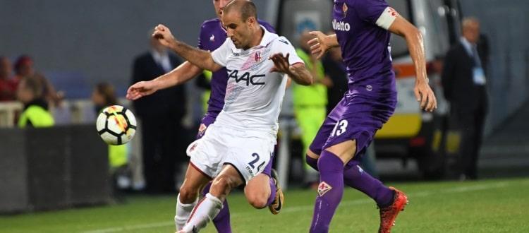 Di nuovo un buon Bologna, di nuovo zero punti: la Fiorentina vince 2-1