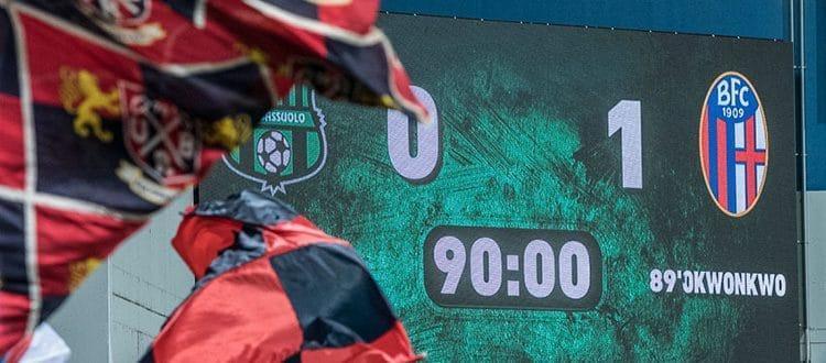 Per il Bologna una striscia aperta di 3 vittorie in casa del Sassuolo