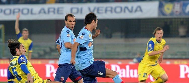 Nel 2011 con Acquafresca l'unica vittoria del Bologna al Bentegodi sponda Chievo in A