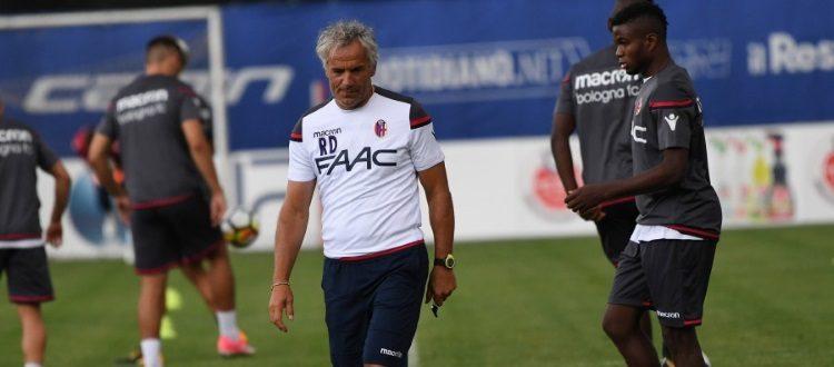 Due giorni a Milan-Bologna, per i rossoblù seduta atletica ed esercitazioni tecniche
