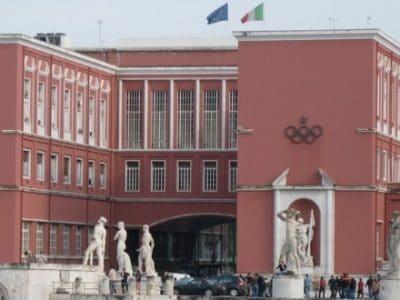 Il Bologna ha ricevuto a Roma il Collare d'Oro al merito sportivo