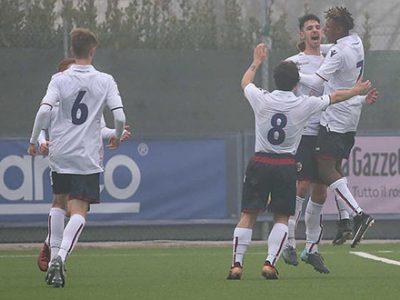Rocambolesco 3-3 della Primavera a Verona sotto gli occhi di Bigon, Di Vaio e Fusco