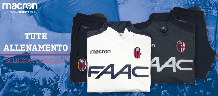 Su SoccerTime la collezione tute del Bologna per i tifosi rossoblù