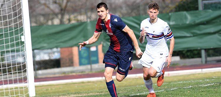 Rovinosa sconfitta per la Primavera di Troise, La Samp passa 2-1 e avvicina i rossoblù alla retrocessione