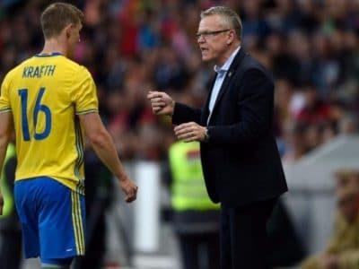 Krafth lascia il ritiro della Svezia per un problema alla schiena