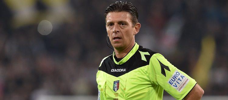 Atalanta-Bologna a Gianluca Rocchi di Firenze