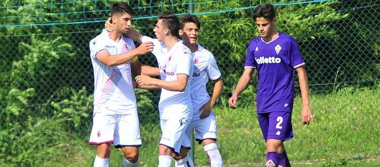 Brignani stende la Fiorentina con una doppietta, il Bologna Primavera tiene vive le speranze di salvezza