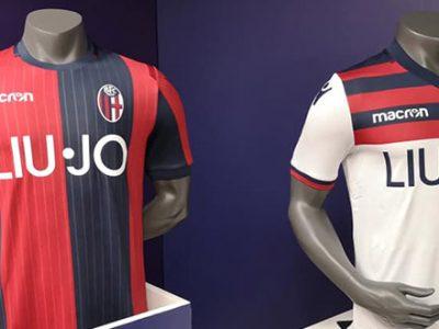 Storia, eleganza e innovazione per le nuove maglie del Bologna. Leggermente modificato anche lo stemma