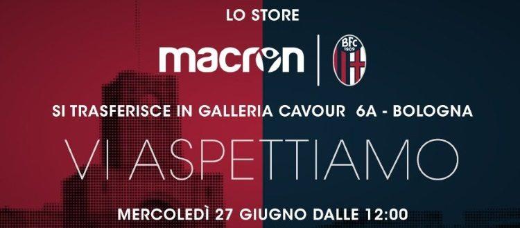 Aperto alle 12 il nuovo store Macron-BFC in Galleria Cavour