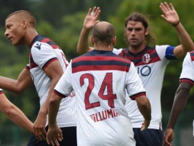 Gambe pesanti ma tanta voglia di fare, il Bologna supera 6-0 il Pinzolo nel primo test stagionale