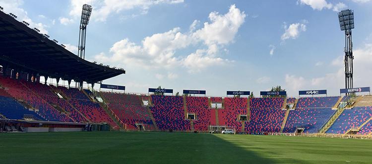 Presentato il progetto di restyling del Dall'Ara, 27 mila posti, tribune più vicine al campo e copertura metallica